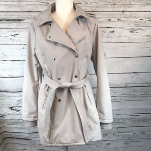 Jessica Simpson-Double breasted trench coat, Large